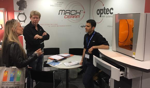 Rencontre sur le stand de OPTEC