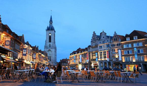 Grand Place de Tournai - © CGT - A. Siquet