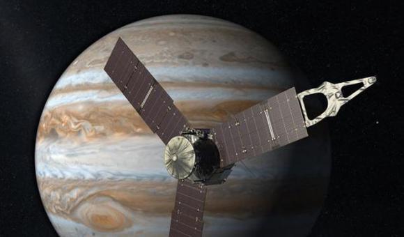 La sonde américaine Juno a atteint son objectif, Jupiter