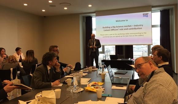 Réunion des ILO Big Sciences à Copenhague